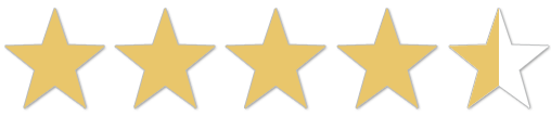 Amazon Bewertung 4,5 Sterne